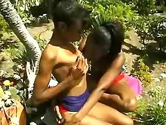 This cute babe turned to be black lesbian ebony lesbian sex